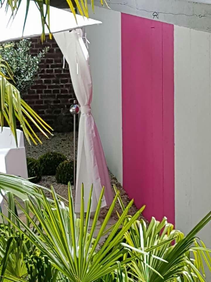 Garten, pink