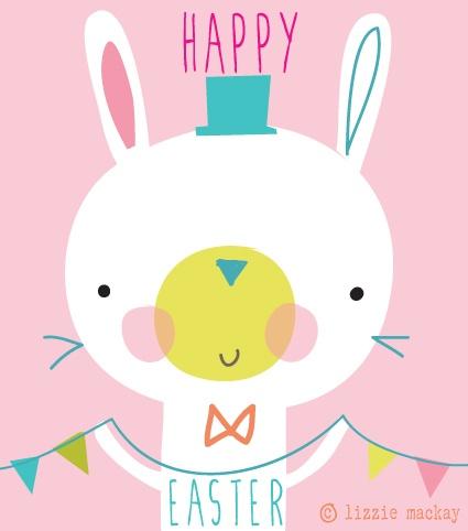 happy Easter   Lizzie Mackay