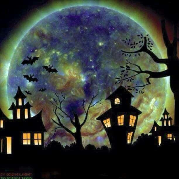 purple halloweenhalloween - Halloween Pitures