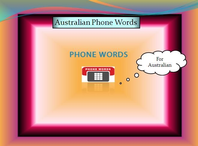 Australian Phone words service helps people to remember your brand name. Use phones words with 1300 and 1800 numbers in Australia and know how phone words work. Visit us:https://www.vtelecom.com.au/1300-1800-phone-words/