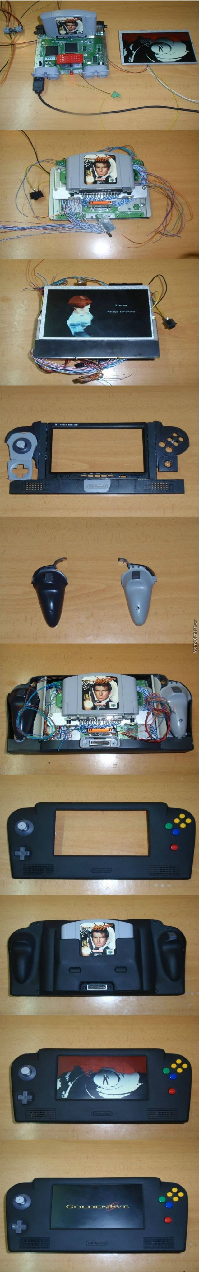 N64 Portable Version? Want! –  – #DiyGamer