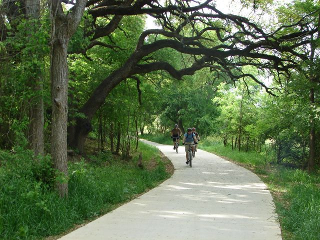 Bikes In San Antonio Texas San Antonio Greenway Trails