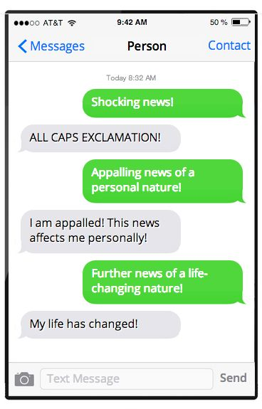 Every fake text message prank ever. | Fake Stuff | Happy Place