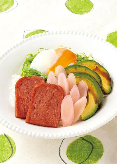 新生姜とスパム(R)のハワイアンボウル のレシピ・作り方 │ABCクッキングスタジオのレシピ | 料理教室・スクールならABCクッキングスタジオ
