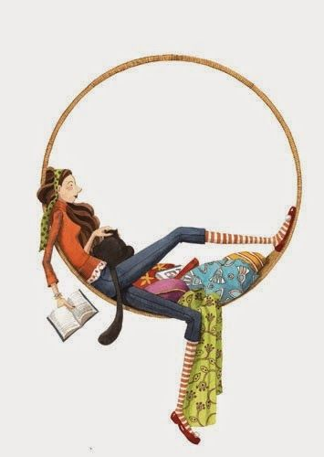 Illustration of Mónica Carretero re-pinned by: http://sunnydaypublishing.com/books/