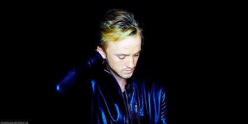 Tom Felton just looked into my soul and I almost fainted.