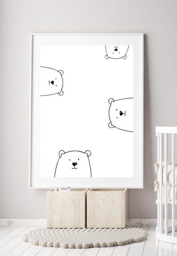 Printable Minimalist Nursery Art Ideas For Less Than 10