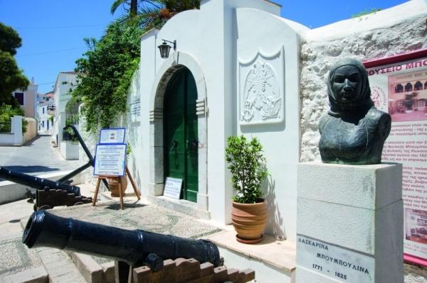 TRAVEL'IN GREECE I Museum Laskarina Bouboulina, #Spetses, #travelingreece