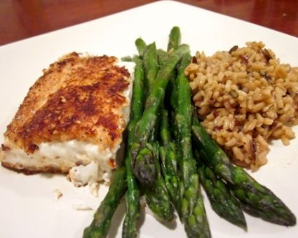 Almond-Crusted Halibut | The Daily Meal