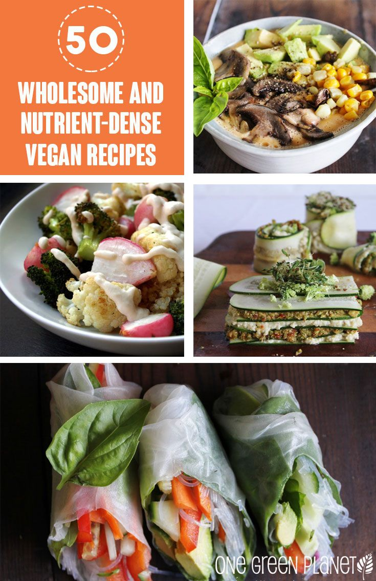 50 Wholesome and Nutrient-Dense Recipes for Fresh Veggies Day! http://onegr.pl/1pcGds0 #vegan #recipe #healthy