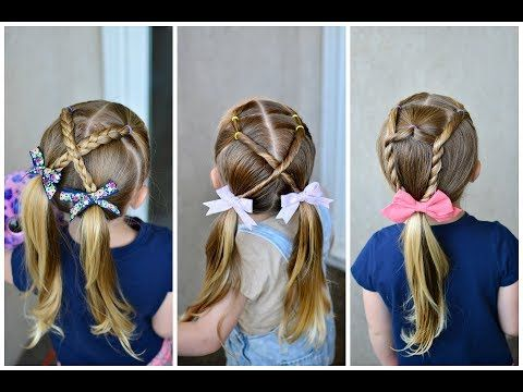 Quick Back to School Styles or Summer Styles | Q's Hairdos - YouTube