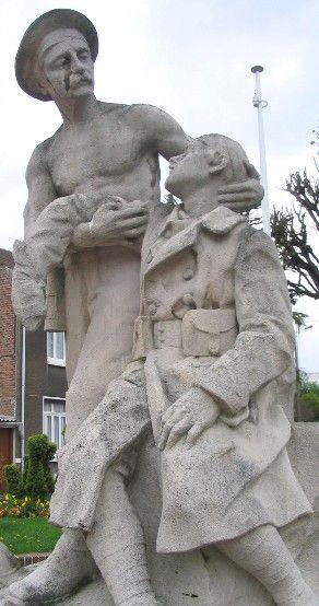 monument aux morts de Liévin.  Pas-de-Calais