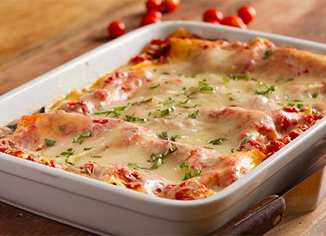Easy Meatless Lasagna Recipe