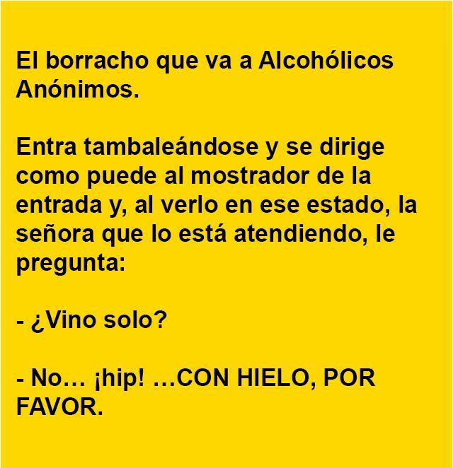 El borracho que va a Alcohólicos Anónimos … | AldeaViral