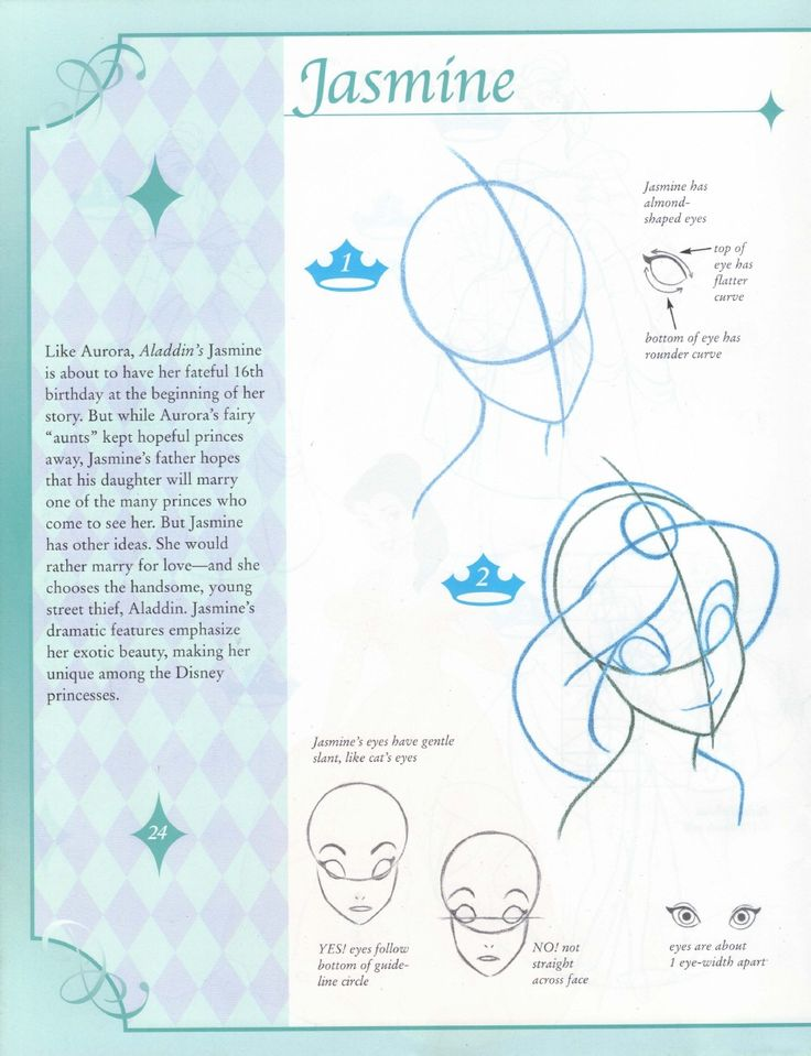 Disney - How to Draw Princesses