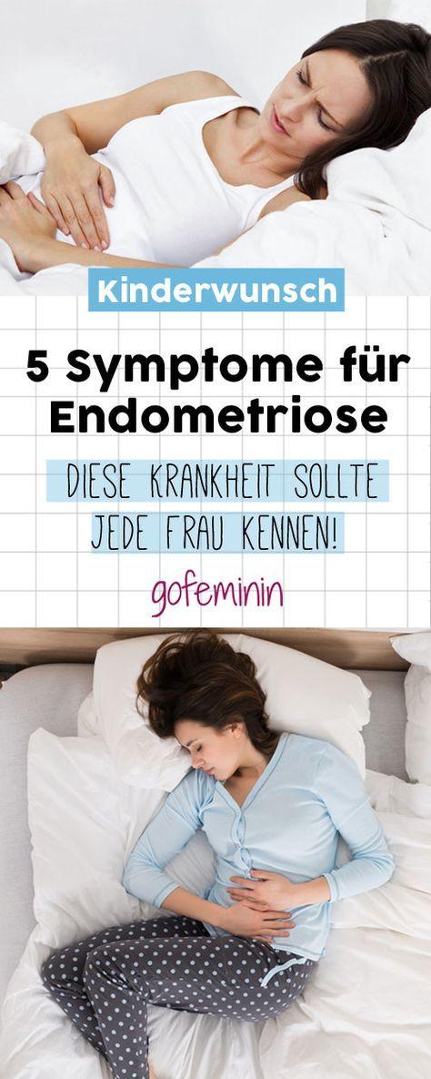 Endometriose: Diese 5 Symptome sollte jede Frau kennen!
