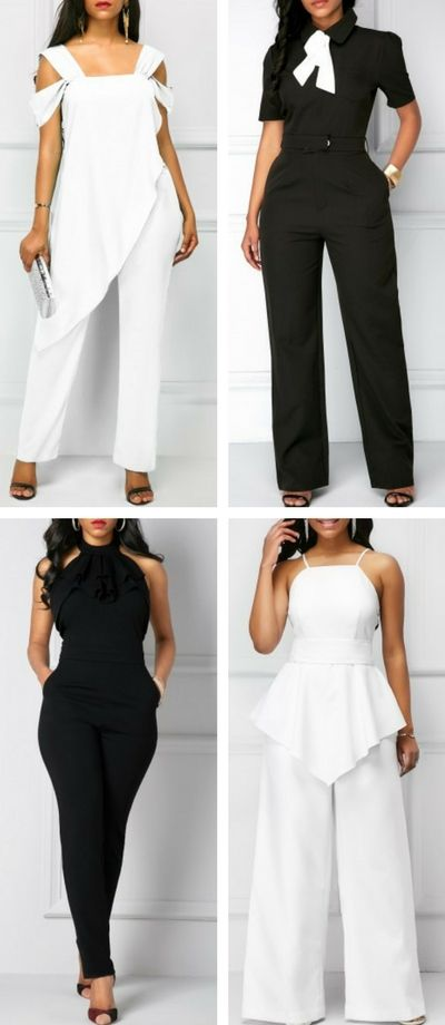 Wedding jumpsuit at Rosewe.com, free shipping worldwide, check them out.