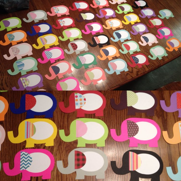 Elephant door decs for the fall!!!