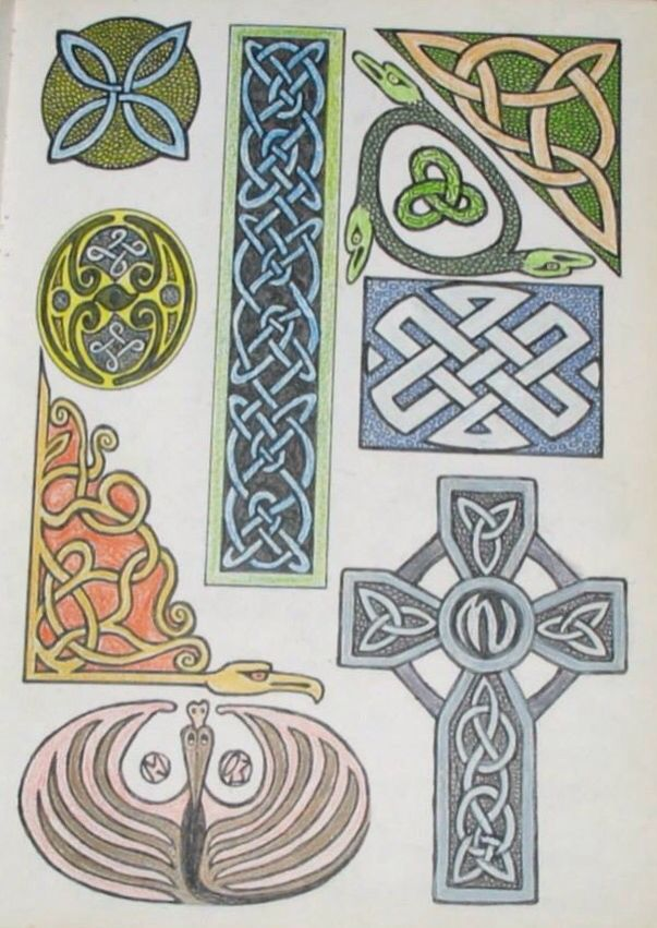 OLD CELTIC KNOT IDEAS Playing with Xeltic knots is something I love to do from time to time