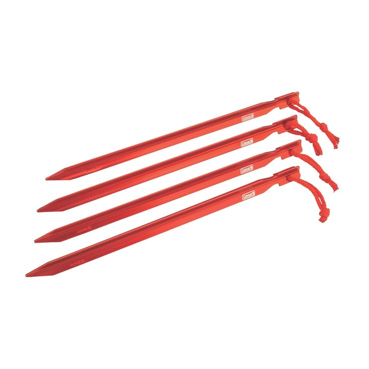 Coleman Aluminum 9-inch Heavy-duty Tent Stakes