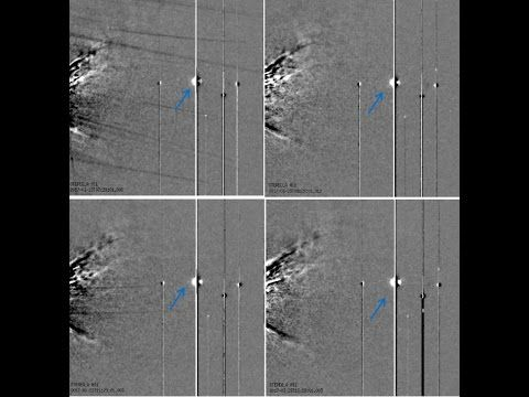 STRANGE OBJECTS IN SECCHI IMAGES AT THE END OF MARCH 2017 - A PHYSICIST'...