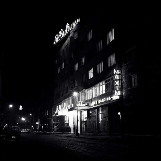 60's, Warsaw by night.