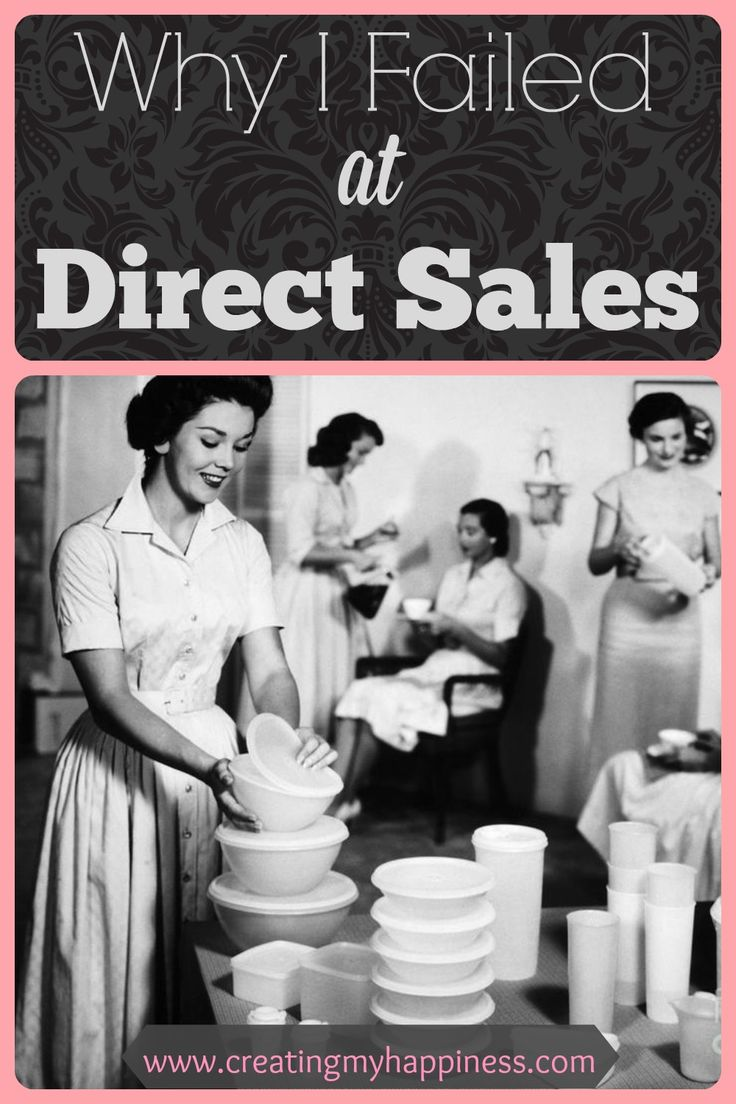 For everyone in or considering joining a direct sales company... learn from my mistakes!