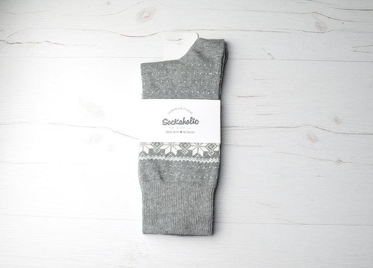 Groenlandia  #socks #calcetines #grey #winter