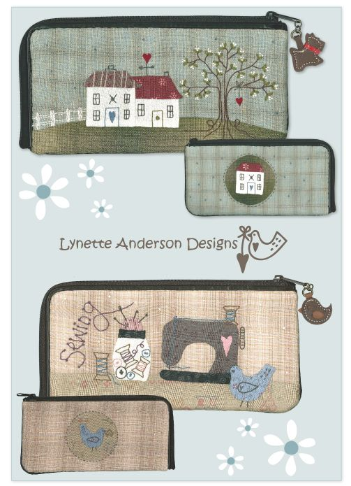 lovely sewing cases from Lynette Anderson