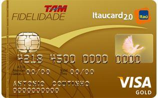 TAM   Fidelidade   Cartão de Crédito  Visa Gold   Itaucard 2.0