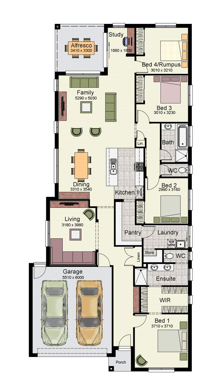 The Tarkine 238 is a versatile home.
