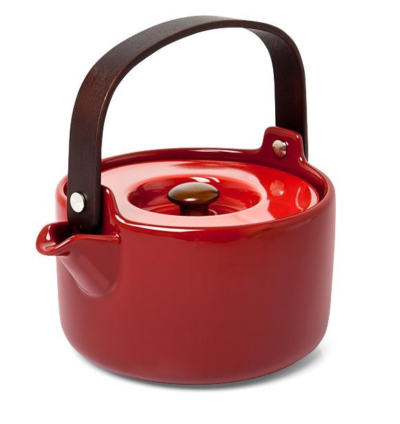 morphica | Oiva Teapot Red