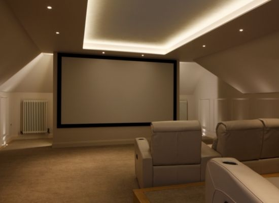 Home Cinema Room and Seating | New Wave AV Smart Home Automation & Audio Visual Solutions