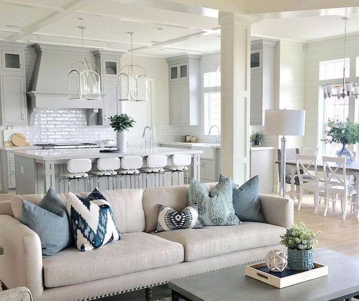 64 Gorgeous Coastal Living Room Decor, Coastal Living Room Decorating Ideas