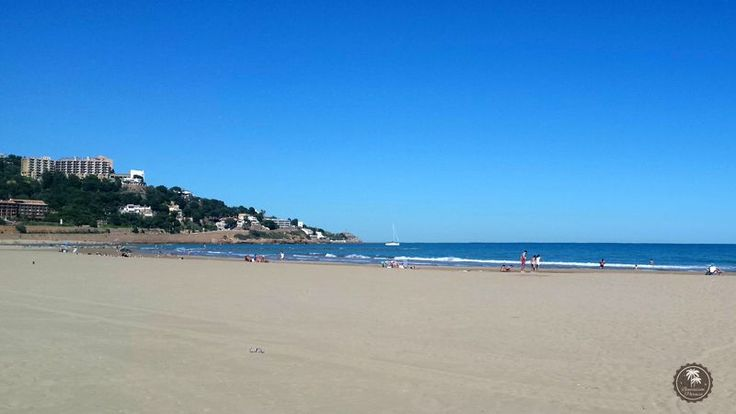 #Playa #Voramar en #Benicassim, #Castellon. #arena #mar #Levante #Mediterraneo #Spain #beach #hot #sun #paradise