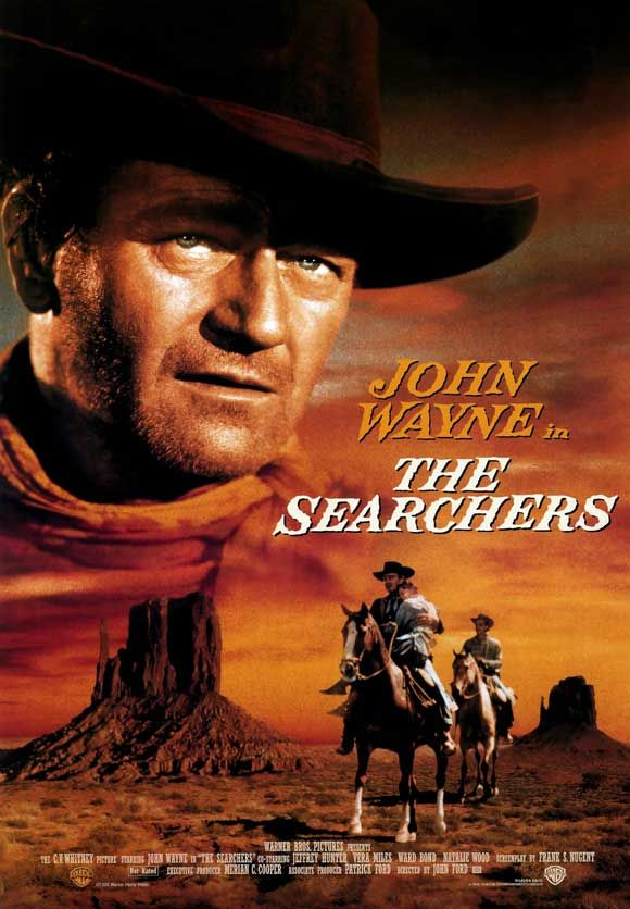 When John Ford directed The Searchers in 1956, he could not have known that he was making one of the greatest films of all time.  The story of a man's relentless search for his abducted niece, played by Natalie  Wood