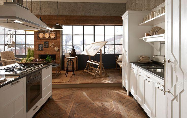Marchi Group - Kreola Cucina in stile vintage - Cucina moderna - Cucina con isola