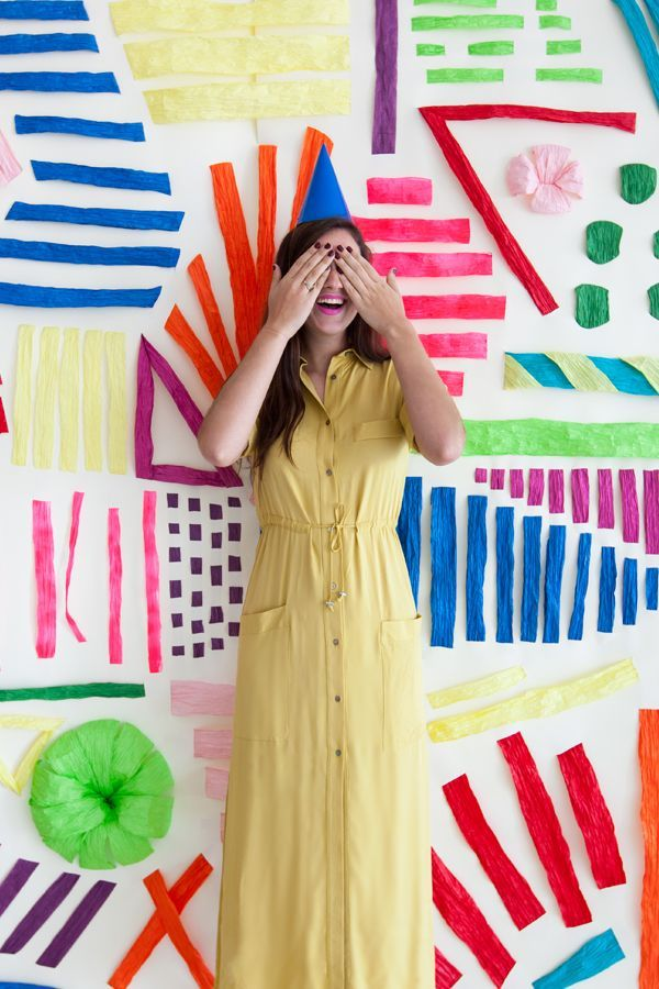 Embroidered Paper Backdrop | Oh Happy Day! | Bloglovin'