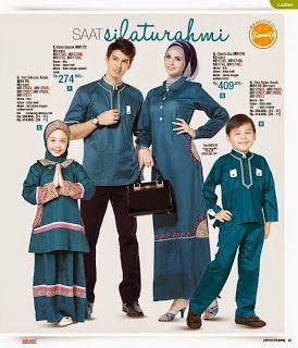 Baju Lebaran Keluarga 2014   Cantik Berbaju Muslim