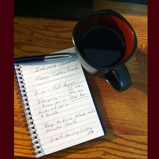 Do you enjoy Sumatra coffee? This Sumatra coffee review is of a bean from Voyage Coffee Roasters in Eugene Oregon? A great Indonesian Sumatra coffee. http://themorningcoffeecup.com/sumatra-coffee-review-voyage-coffee-roasters/