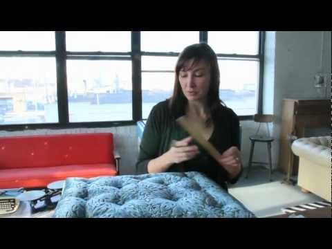 how to add tufting to a chair