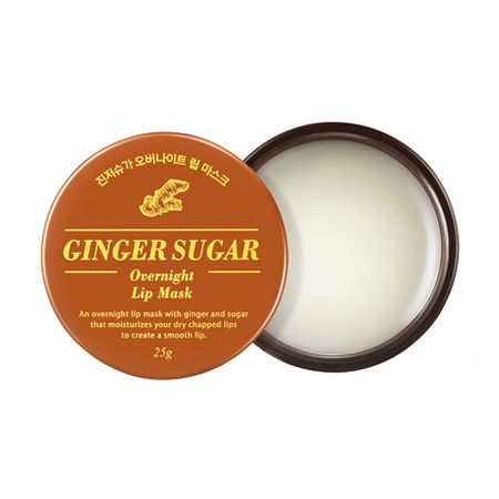 Aritaum Ginger Sugar Overnight Lip Mask [Testing. Very emolient overnight lip balm. Doesn't smell like ginger.]