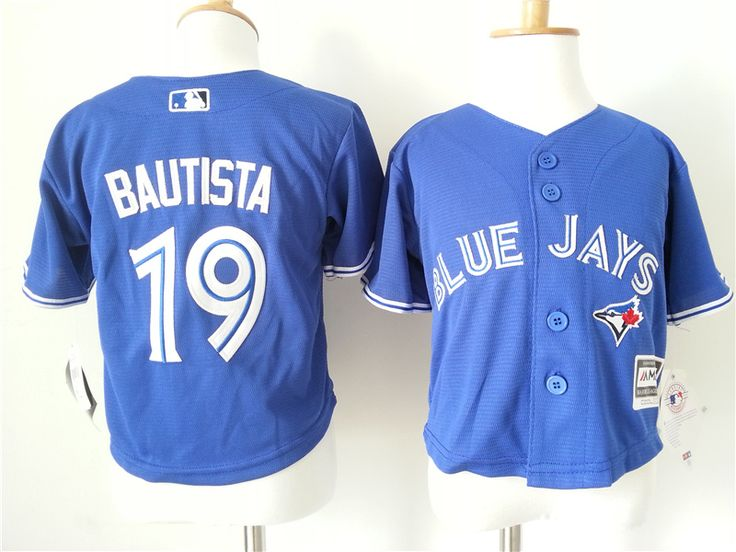 Infant MLB Toronto Blue Jays #19 Jose Bautista Jerseys