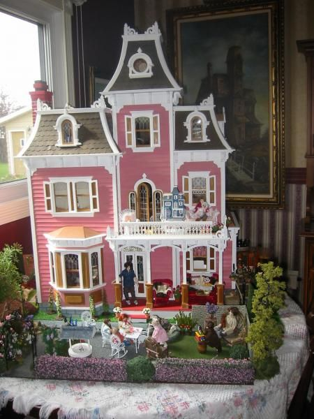 99 Best Images About Doll Houses Miniatures Victorian