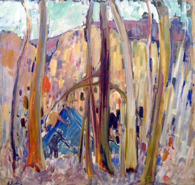 René RICHARD - Campement de trappeurs (1960)