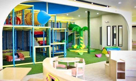 One-Month Indoor Playground Pass for One or Two Children at Twinkle Twinkle Kids