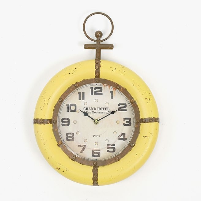 Relógio Marinheiro Amarelo | A Loja do Gato Preto | #alojadogatopreto | #shoponline | referência 107864843