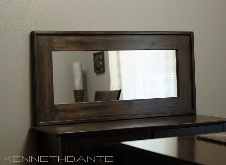Rustic Mirror Above Couch Living Room Pinterest Master Bedrooms Couch And Mirror Above