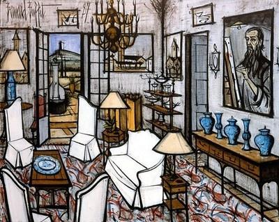 L'entrée, 1987 - Bernard Buffet
