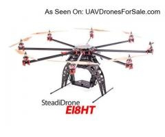 SteadiDrone EI8HT RTF w/GPS Gyro Heavy Lift Octocopter for PRO HD Aerial Video and Photography. http://uavdronesforsale.com/index.php?page=item=248